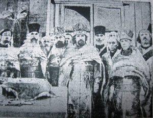 Члены Святейшего Синода РПЦ в Ульяновском Казанском соборе, бывшем Симбирском костёле