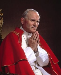 Литания и молитва святому Иоанну Павлу II